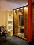 Purple Sauna Room (far-infrared sauna)
