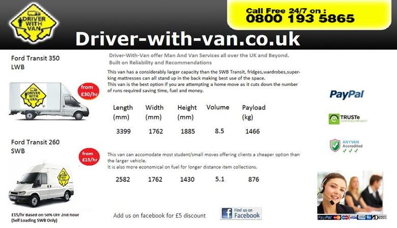 Driver-With-Van (UK) Ltd.
