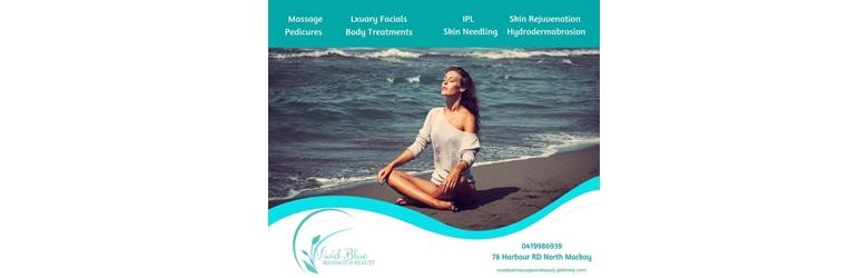 Vivid Blue Massage and Beauty