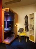 Blue Sauna Room (full-spectrum infrared sauna)