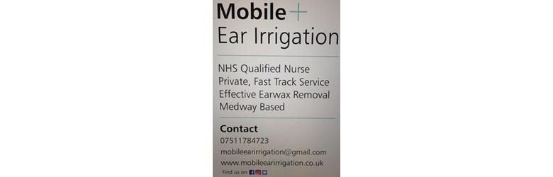 Mobile Ear Irrigation